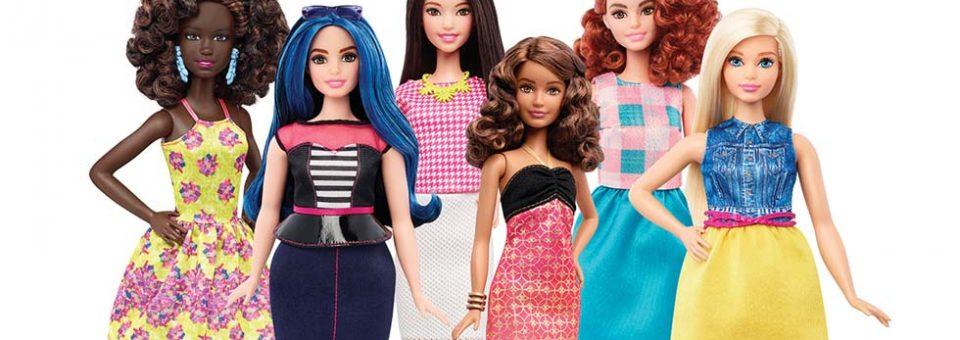 UIT MET maer Barbie, IN MET DIE kurwes